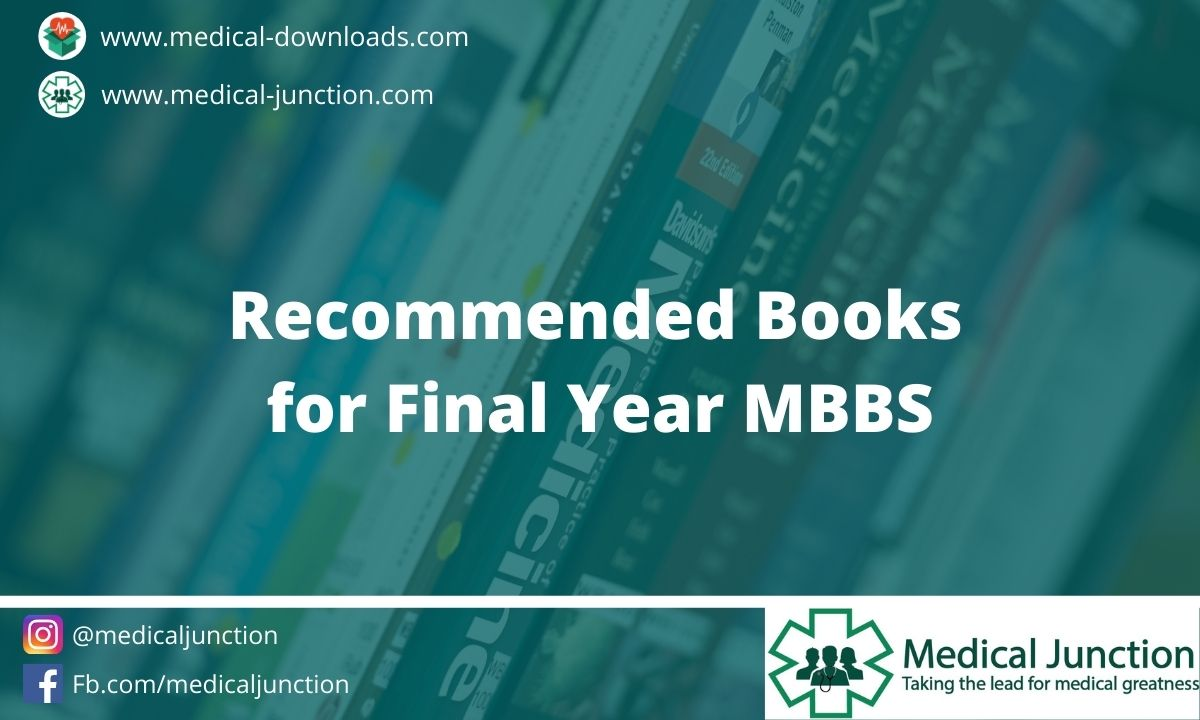 Recommended Books for Final Year MBBS (1)